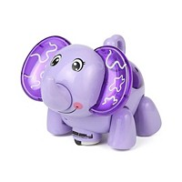 Linsay Baby Kids Smart Toy LED Light Elephant (Purple)