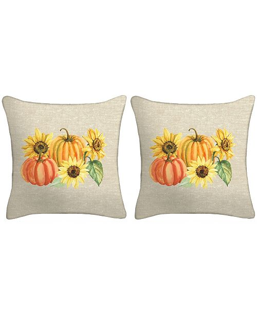 Jordan Manufacturing Set of 2- Harvest Toss Pillows