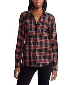 Collared Cotton Shirt