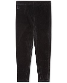 Polo Ralph Lauren Toddler Girls Stretch Velvet Legging