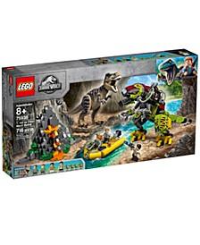 T. rex vs Dino-Mech Battle 75938 - Dinosaur Toy