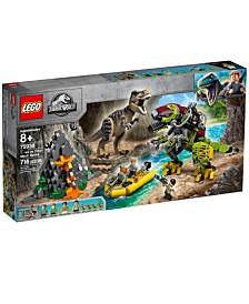 LEGO® T. rex vs Dino-Mech Battle 75938