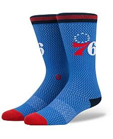 Stance Philadelphia 76ers Arena Jersey Pack Crew Socks