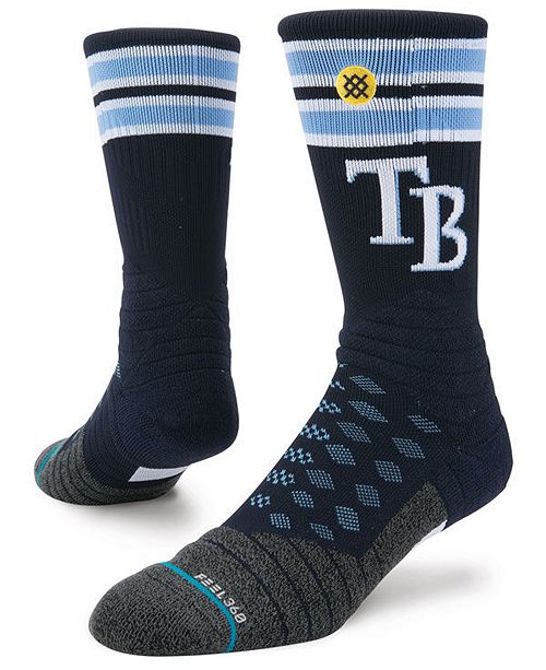 Stance Tampa Bay Rays Diamond Pro Authentic Crew Socks