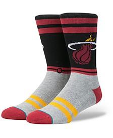 Miami Heat City Gym Crew Socks