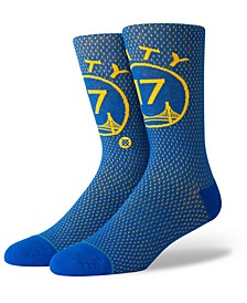 Chris Mullin Golden State Warriors Hardwood Classic Jersey Crew Socks