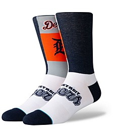 Detroit Tigers Pop Fly Crew Socks