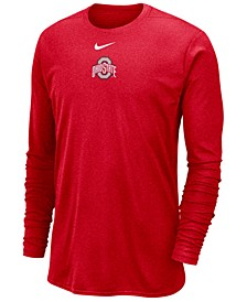 Men's Ohio State Buckeyes Player Long Sleeve Top