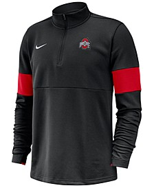 Men's Ohio State Buckeyes Therma Half-Zip Pullover