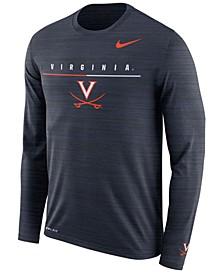 Men's Virginia Cavaliers Velocity Travel Long Sleeve T-Shirt
