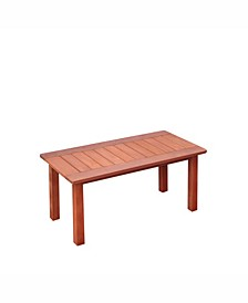 Distribution Miramar Hardwood Outdoor Coffee Table