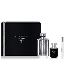 Men's 3-Pc. L'Homme Gift Set