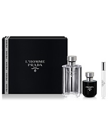 Prada Men's 3-Pc. L'Homme Gift Set