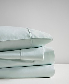 600 Thread Count Cal King 4-Piece Cooling Cotton Sheet Set