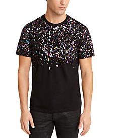 INC Men's Rainbow Leaf T-Shirt, Created For Macy's