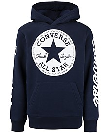 Big Boys Signature Chuck Patch Logo Hoodie