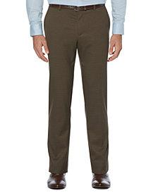 Perry Ellis Men's Houndstooth No-Iron Slim-Fit Suit Pants