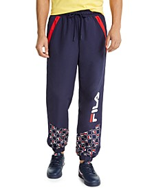 Men's Van Saint Logo-Print Windpants