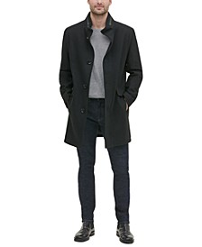 Men's Single Breasted Twill Walker Jacket
