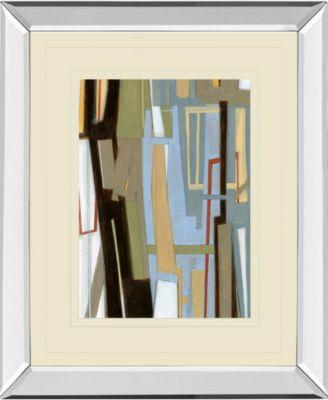 "High Expectations I by Norman Wyatt Jr. Mirror Framed Print Wall Art - 34"" x 40"""