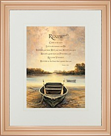"Renew by Bonnie Mohr Framed Print Wall Art - 34"" x 40"""
