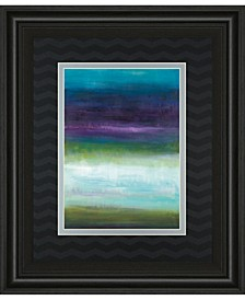 """Midnight Mulberry by Wani Pasion Framed Print Wall Art - 34"""" x 40"""""""