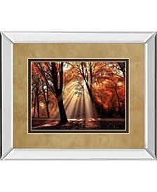 "Dressed To Shine by Lars Van De Goor Mirror Framed Print Wall Art - 34"" x 40"""
