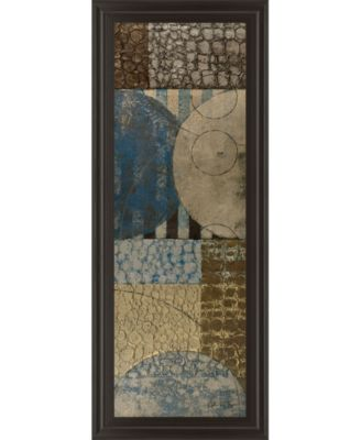 """Bubble Structure Il by John Kime Framed Print Wall Art - 18"""" x 42"""""""