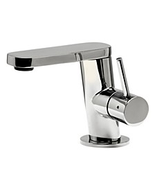 Ultra Modern Polished Stainless Steel Bathroom Faucet
