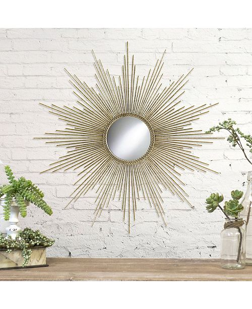 TX USA Corporation Gold Mirror 32""