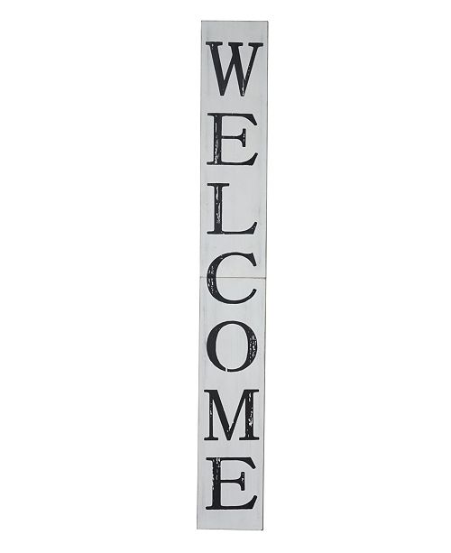 TX USA Corporation Welcome Porch Sign