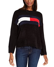 Flag Chenille Sweater