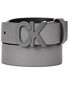 Big Boys Pebble Leather Belt