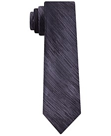 Men's Slim Abstract Stripe Silk Tie
