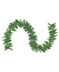 9' Mixed 2-Tone Pine Artificial Christmas Garland - Unlit
