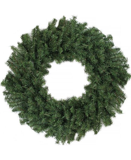 Northlight Canadian Pine Artificial Christmas Wreath - Unlit