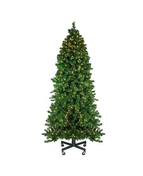Northlight 7.5' Pre-Lit Olympia Pine Artificial Christmas Tree - Warm White LED Lights