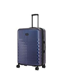 "Triforce Lumina 30"" Spinner Iridescent Geometric Design Luggage"