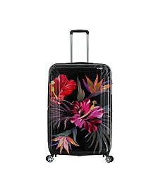 """Triforce Havana 30"""" Spinner Tropical Floral Luggage"""