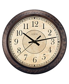 "La Crosse Clock 404-2635 14"" Savannah Quartz Wall Clock"