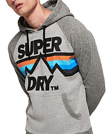 Men's Downhill Racer Logo Graphic Hoodie