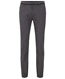 BOSS Men's Cuffed Slim-Fit Trousers