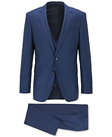 BOSS Men's Huge Genius Slim-Fit Three-Piece Suit