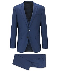 BOSS Men's Huge Genius Slim-Fit Three-Piece Suit