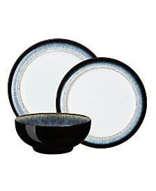 Denby Halo 12 Piece Dinnerware Set, Service for 4