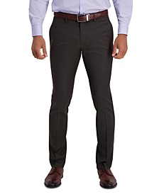 Men's Extra Slim-Fit Stretch Micro Check Houndstooth Dress Pants