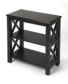 Vance Black Licrice Bookcase