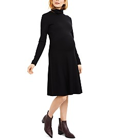Seraphine Maternity Turtleneck Dress