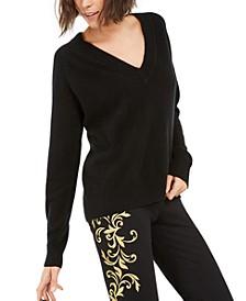 INC Cashmere V-Neck Sweater, Created For Macy's