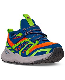 Skechers Little Boys Turbo Spike Vollux Casual Athletic Stay-Put Closure Sneakers from Finish Line